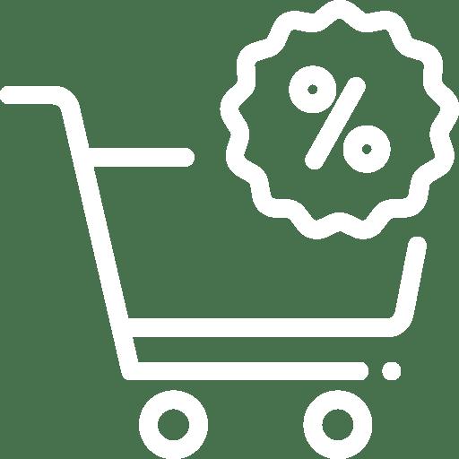 Icone de prix réduit