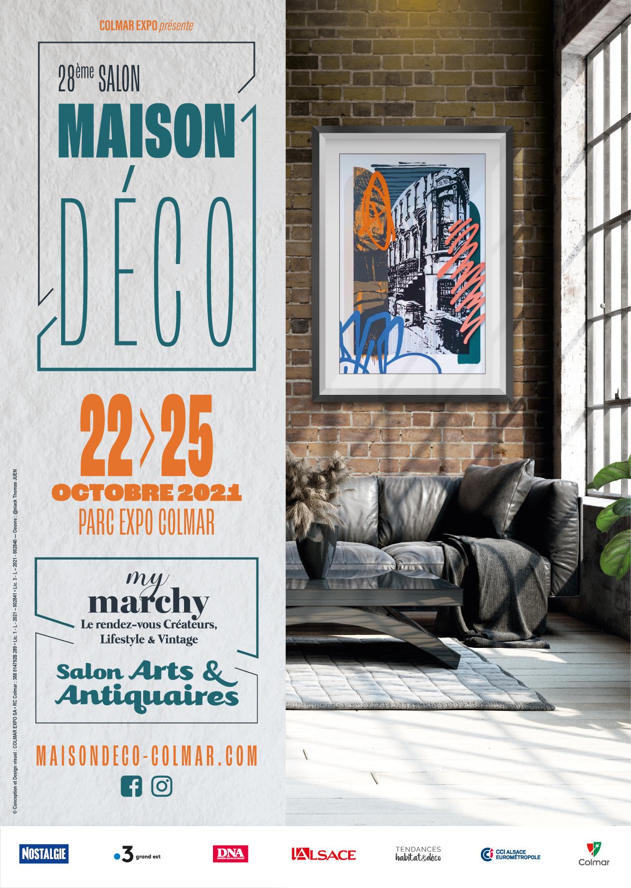SALON MAISON DECO – ARTS & ANTIQUAIRES 2021