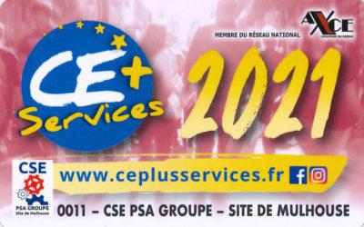 Carte CE+ Services