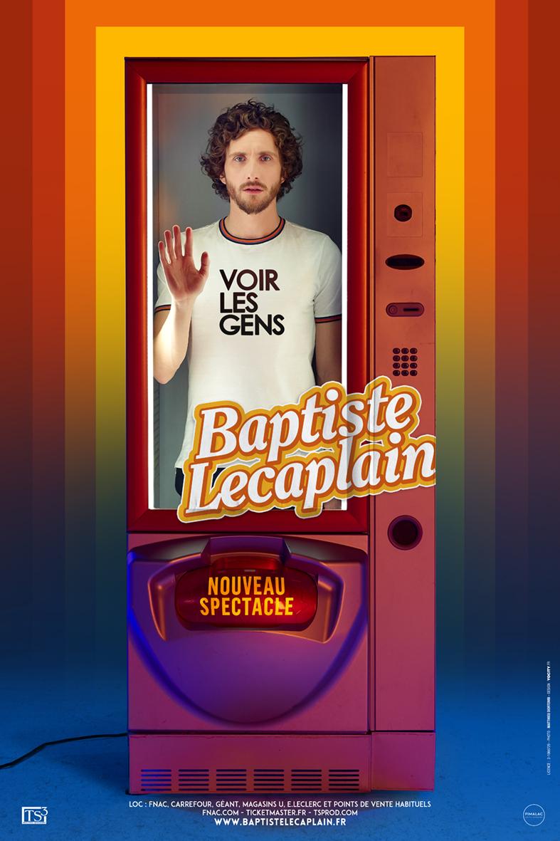 9ème Festival d'Humour : BAPTISTE LECAPLAIN
