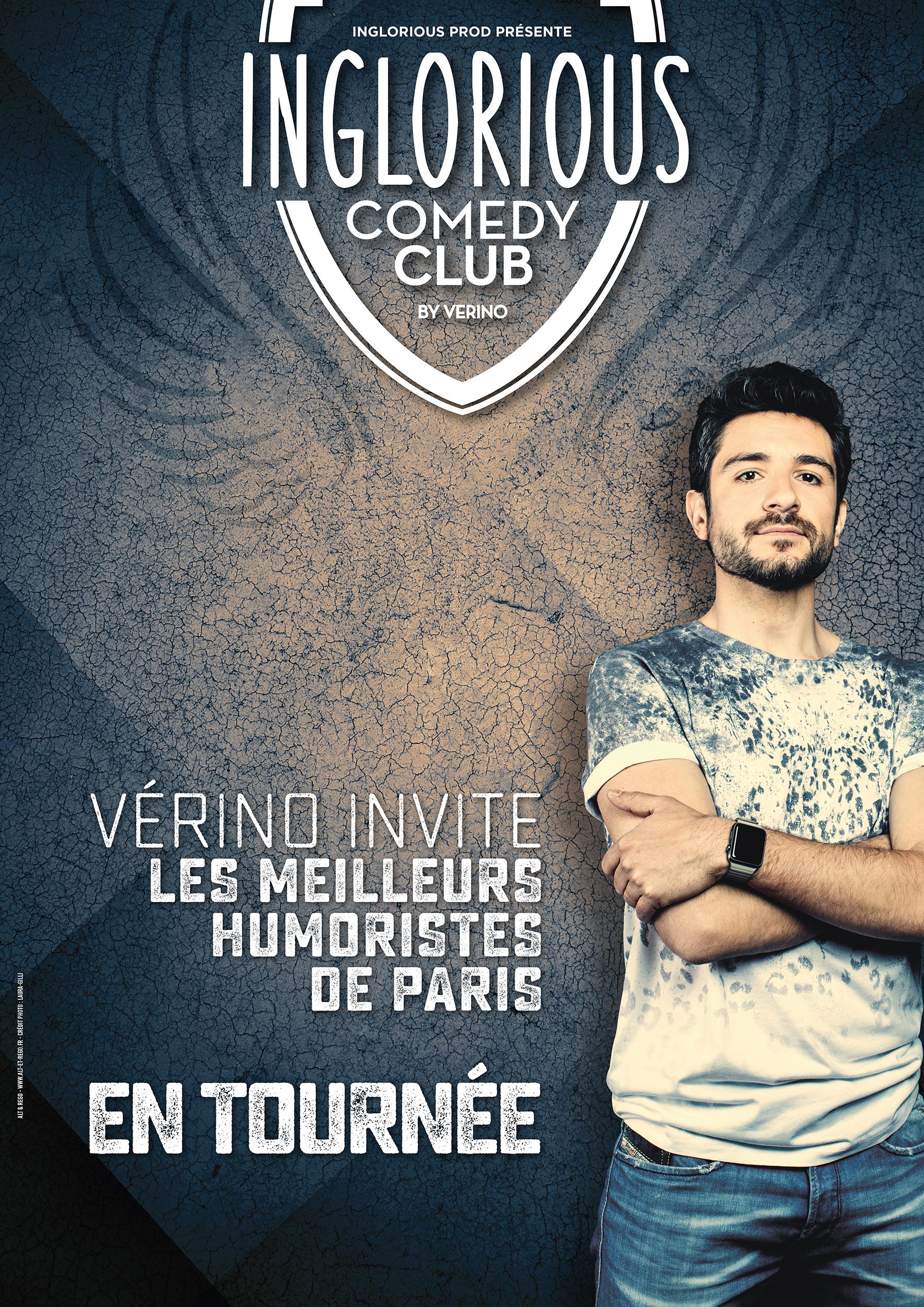 9ème Festival d'Humour : INGLORIOUS COMEDY CLUB