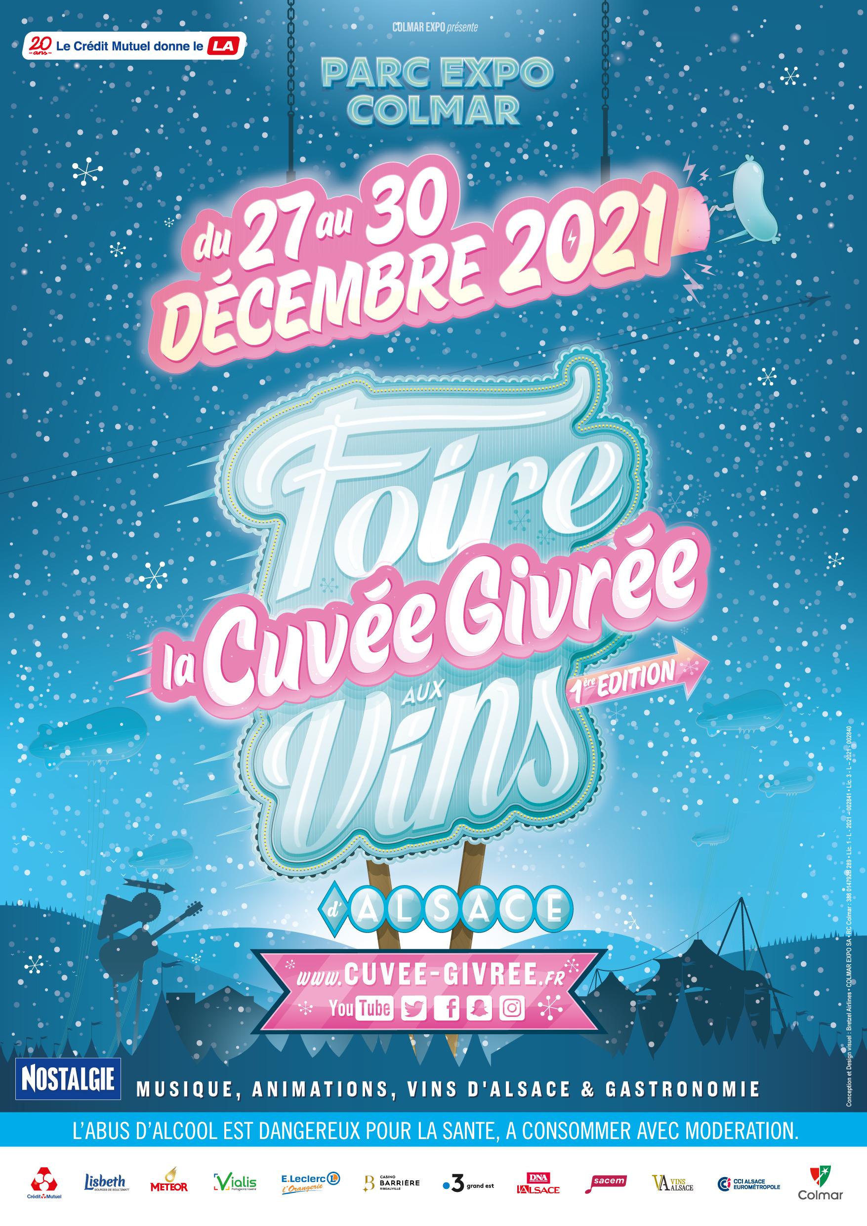 CUVEE GIVREE : ENTREE FOIRE AUX VINS D'ALSACE